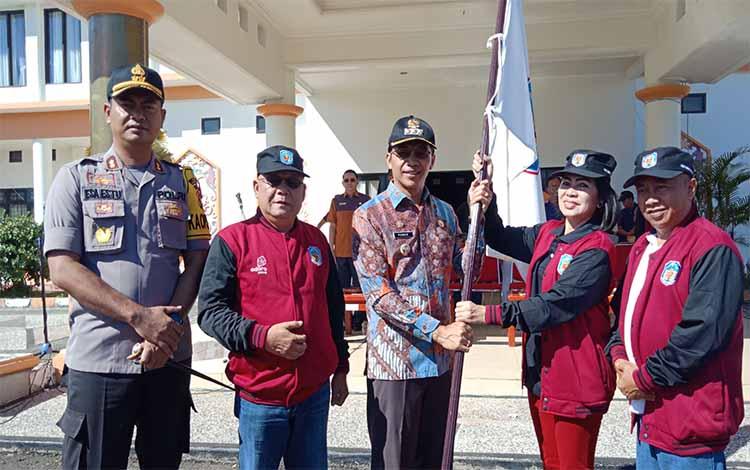 Bupati Murung Raya melepas kontingen FBM, Jumat, 14 Juni 2019