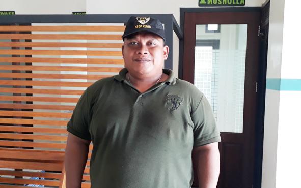 Kepala Kantor Kesyahbandaran dan Otoritas Pelabuhan Kumai Wahyu Prihanto.
