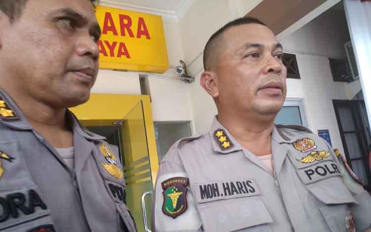 Kabiddokkes Polda Kalimantan Tengah, Kombes Pol Muhammad Haris (kanan)