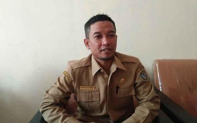 Kepala DPMPTS Seruyan Agung Setiawan.