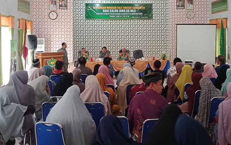 Jamaah calon haji asal Kabupaten Murung Raya  dinyatakan sehat