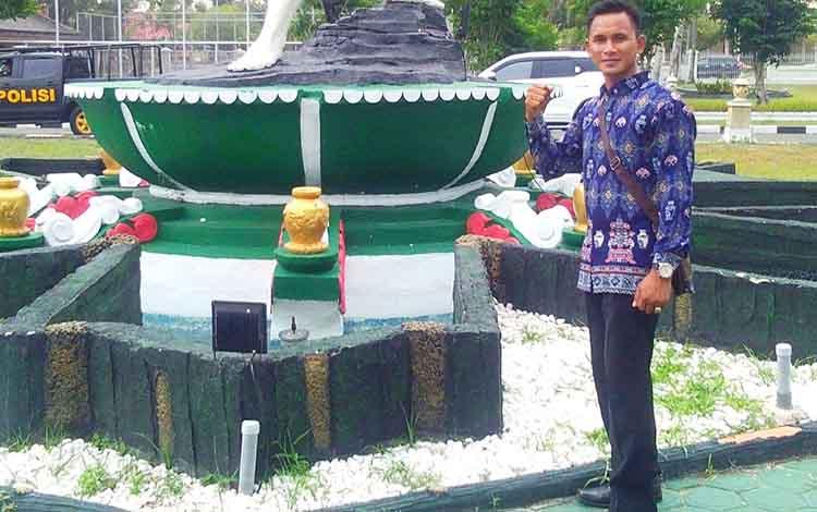 Kepala Desa Trinsing, Kecamatan Teweh Selatan, Heri Mansupardi