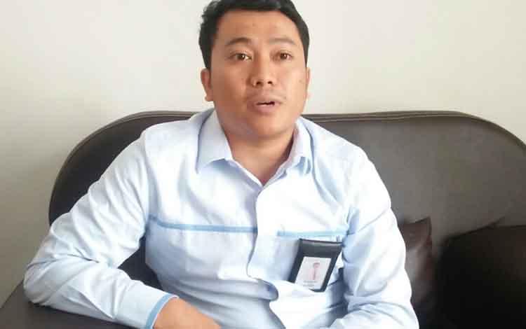 Manajer UPL PLN Kuala Pembuang Angga Andriansyah