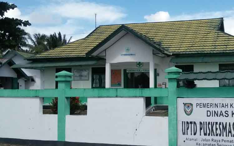 Salah satu Puskesmas yang ada di Kabupaten Seruyan. Sampai saat ini masih terdapat 6 puskesmas yang belum memiliki dokter.