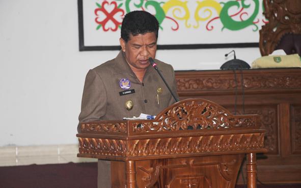 Wakil Bupati Sukamara Ahmadi, mengharapkan bencana karhutla dan kabut asap tak terulang.