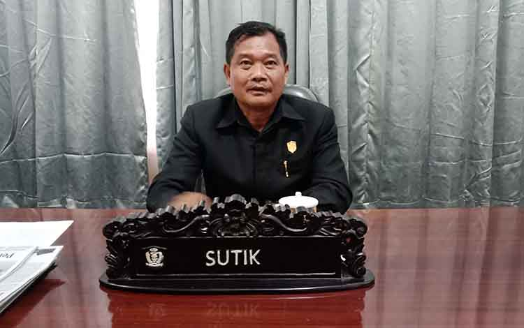 Anggota Komisi III DPRD Kotim, Sutik