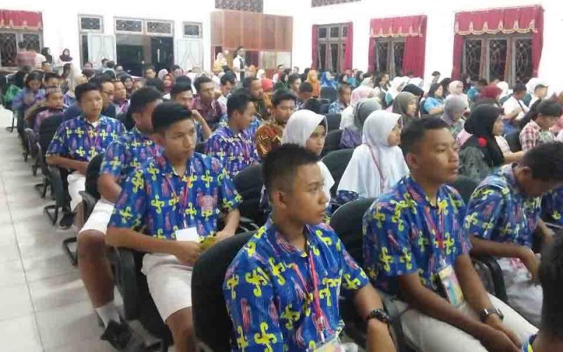 Pembukaan FL2SN tingkat Kabupaten Seruyan.