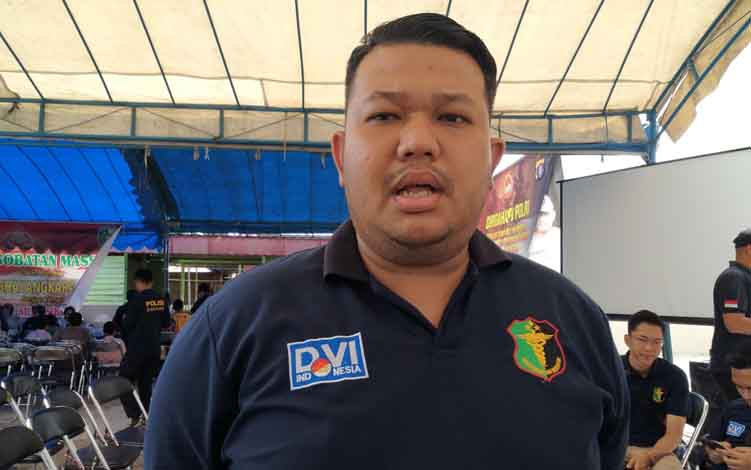 Biddokkes Polda Kalimantan Tengah, Dr Riezky Maracilu
