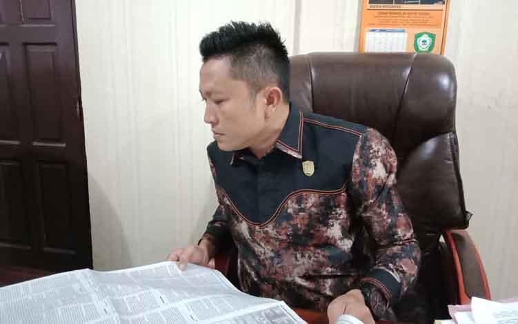 Anggota Komisi III DPRD Kotim, Dadang H Syamsu