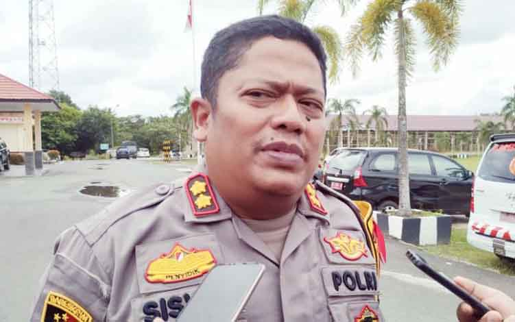 Kapolres Pulang Pisau,  AKBP Siswo Yuwono Bima Putra Mada.