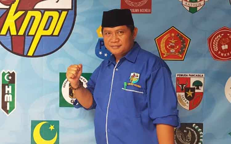 Sekretaris DPD KNPI Kabupaten Katingan, Surya Melky.