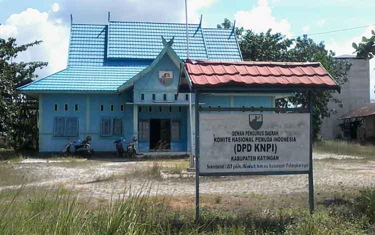 Kantor KNPI Kabupaten Katingan.