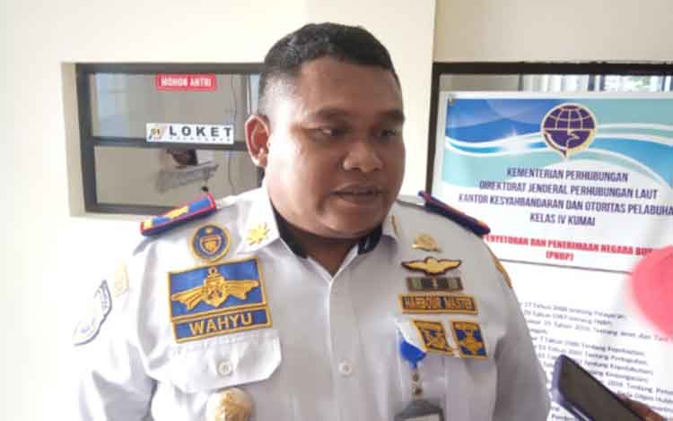 Kepala KSOP Kelas IV Kumai, Wahyu Prihanto