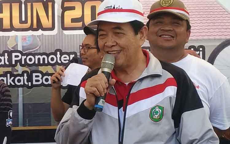 Wakil Bupati Kotim, Taufiq Mukri.
