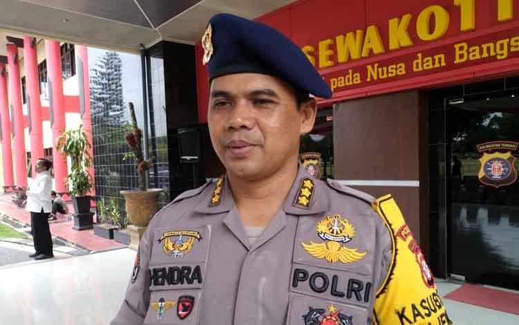 Kabid Humas Polda Kalteng Kombes Pol Hendra Rochmawan