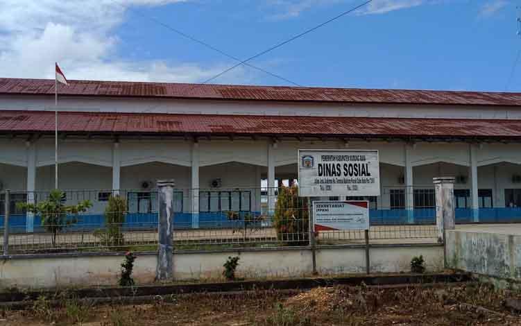 Kantor Dinas Sosial Murung Raya.