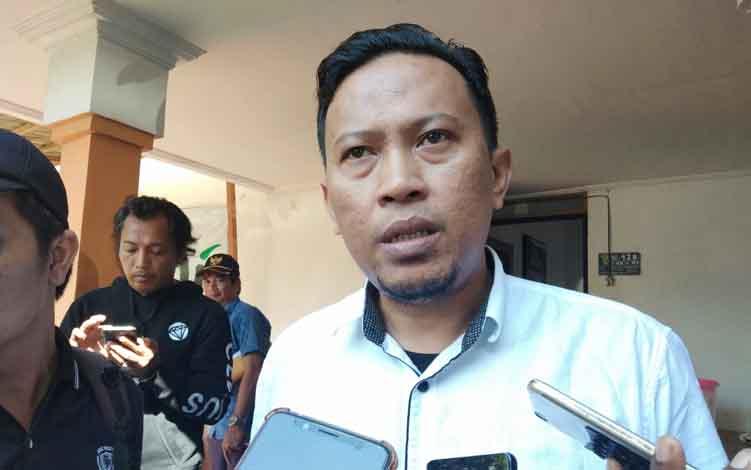 Direktur Eksekutif Walhi Kalteng, Dimas Nuvian Hartono