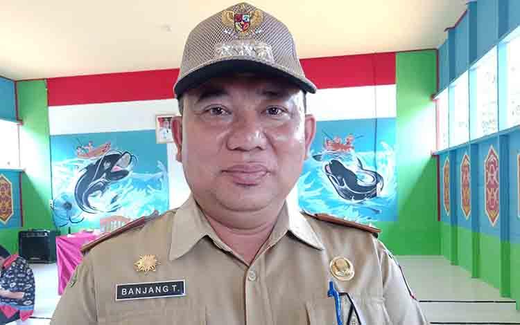 Camat Murung, Banjang Jalin, Senin, 1 Juli 2019