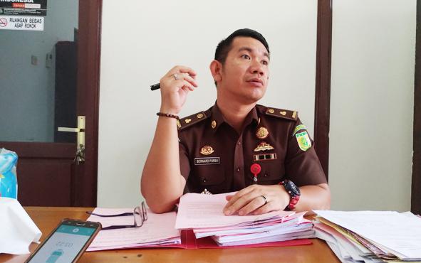 Kasi Pidum Kejaksaan Negeri Palangka Raya Bernard E K Purba.