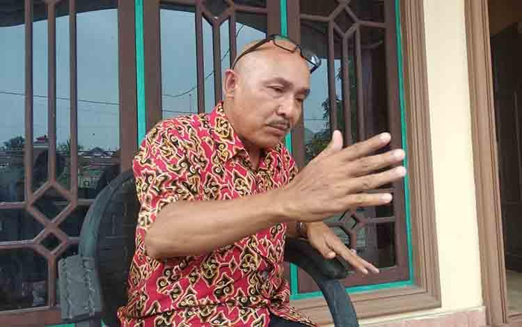 Praktisi hukum Sukah L Nyahun.