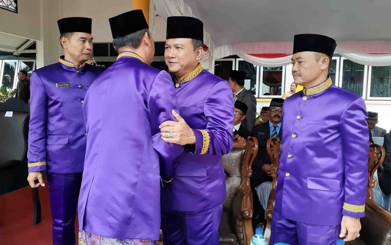 Peringatan Hari Jadi ke 17 Kabupaten Sukamara, Selasa, 2 Juli 2019.