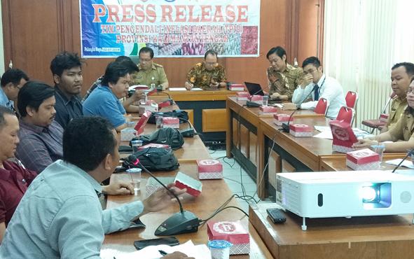 Tim Pengendali Inflasi Daerah atau TPID Provinsi Kalimantan Tengah menggelar rilis rutin bulanan pada Selasa, 2 Juli 2019.