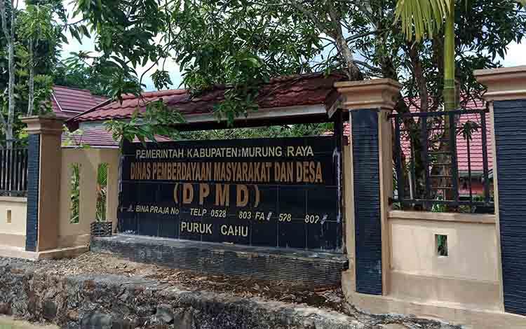 Kantor Dinas Pemberdayaan Masyarakat dan Desa.