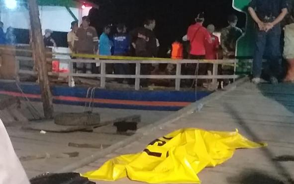Salah satu korban mobil tercebur di Sungai Kahayan, Dusun Palambahen, Desa Pangkoh Hulu, Kecamatan Pandih Batu.Kabupaten Pulang Pisau, Kamis, 4 Juli 2019, berhasil dievakuasi.