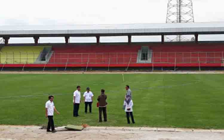 Stadion Tuah Pahoe, Palangka Raya, Kalimantan Tengah.