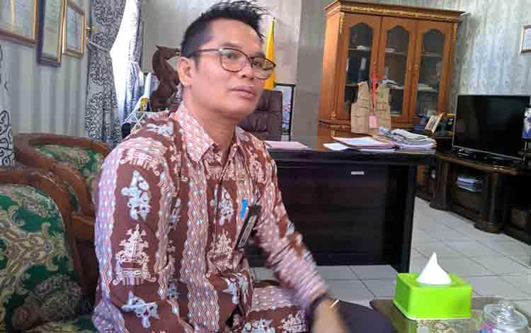 Inspektur Inspektorat Kota Palalangka Raya, Alman Pakpahan.