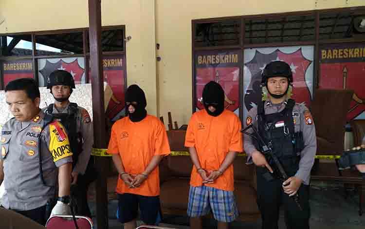Pelaku pencurian rumah kosong di Jalan Moris Ismail diamankan Polres Palangka Raya, Jumat 5 Juli 2019
