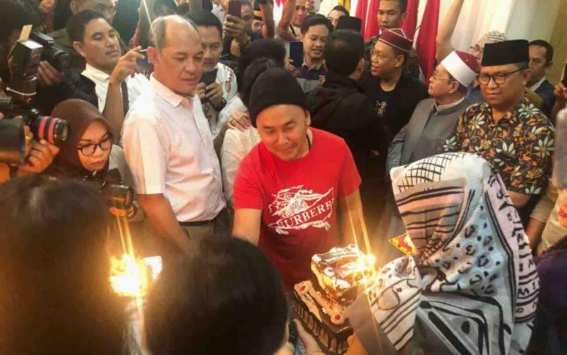Gubernur Kalteng mendapatkan kejutan di hari ulang tahun, Jumat, 5 Juli 2019.