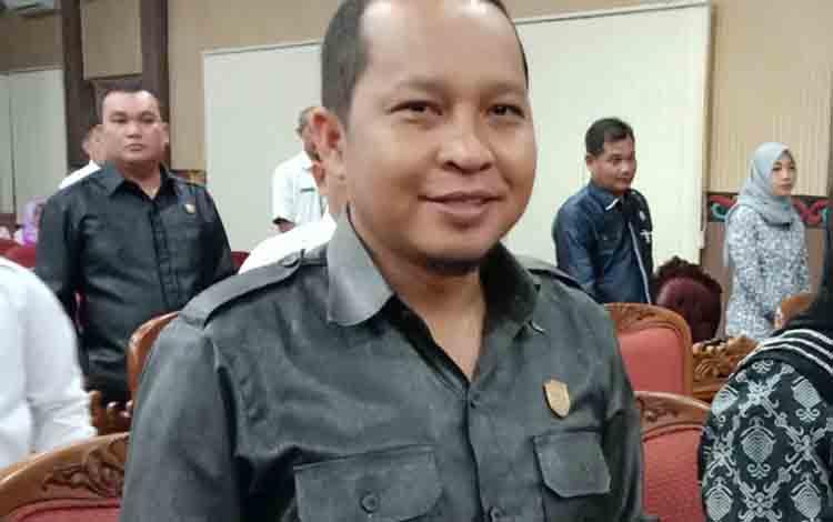 Anggota Komisi I DPRD Kotim, Syahbana