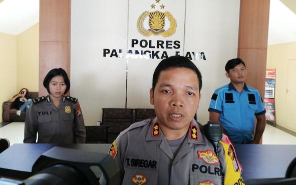 Kapolres Palangka Raya AKBP Timbul RK Siregar.