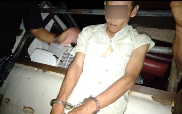 Inilah otak pelaku pencurian di rumah kosong di Jalan Moris Ismail, Palangka Raya.