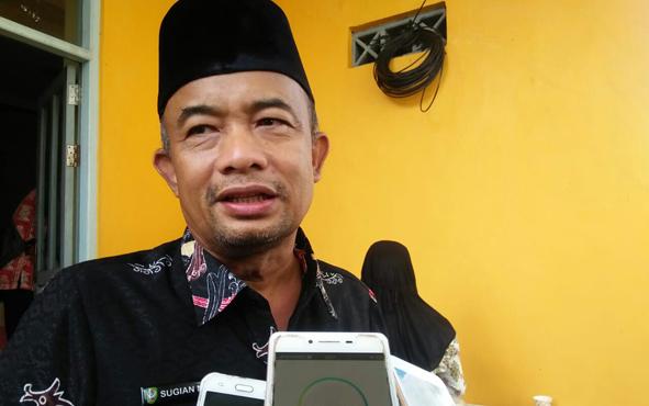 Kepala Dinas Ketahanan Pangan dan Pertanian Kabupaten Seruyan Sugian Noor.