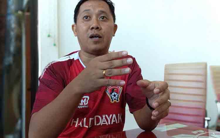Sekretaris Tim Kalteng Putra Sigit Wido