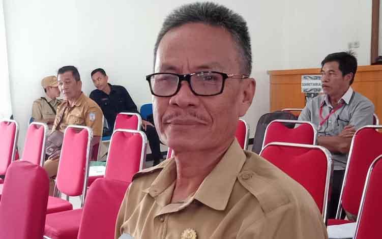 Kepala BKPSDM Murung Raya, Yance P. Sirenden