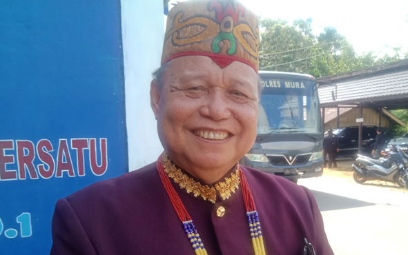 Ketua KONI Murung Raya Herianson D Silam