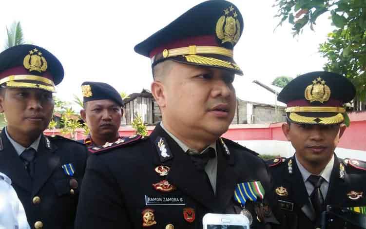 Kapolres Seruyan, AKBP Ramon Z Ginting.