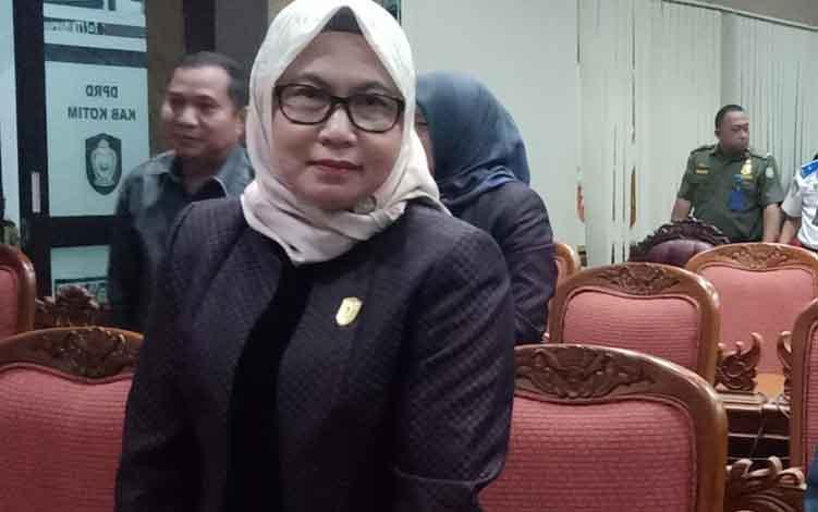 Anggota Komisi IV DPRD Kotim, Hj Darmawati.