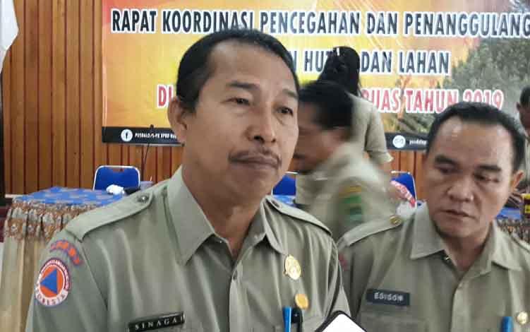 Kepala Pelaksana BPBD Kapuas, Panahatan Sinaga.