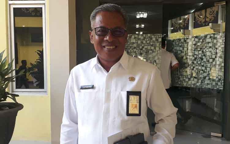 Sekretaris Daerah Kobar, Suyanto.