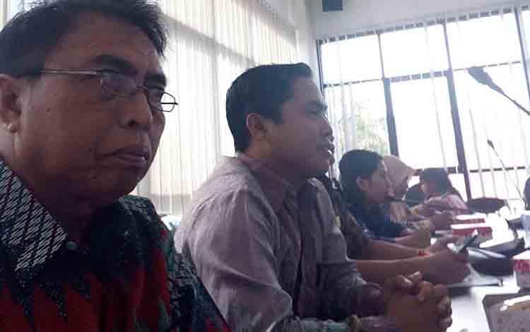 DPRD Kabupaten Pulang Pisau saat kunjungan kerja ke Kabupaten Tanah Laut, Kalimantan Selatan.