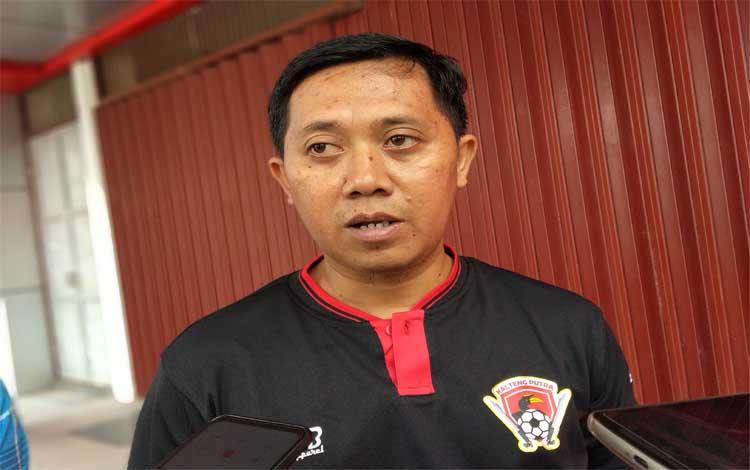 Sekretaris Tim Kalteng Putra, Sigit Wido