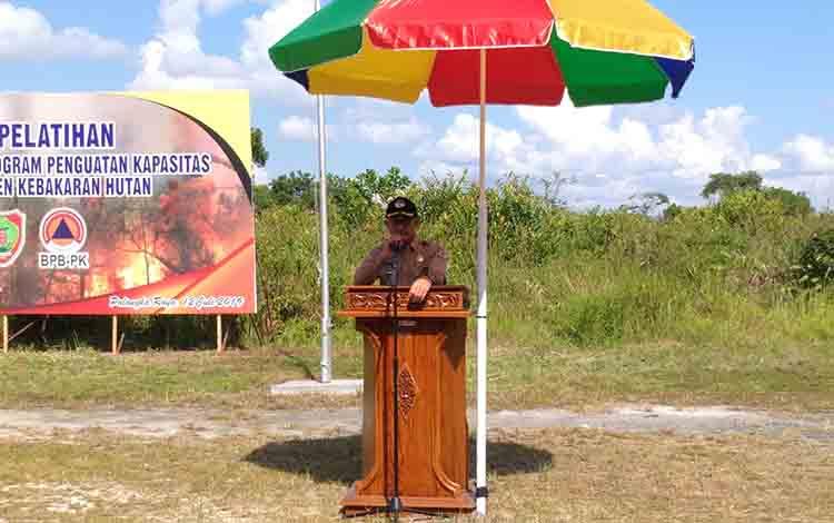 Direktur Perbaikan Darurat BNPB, Medi Herlianto.