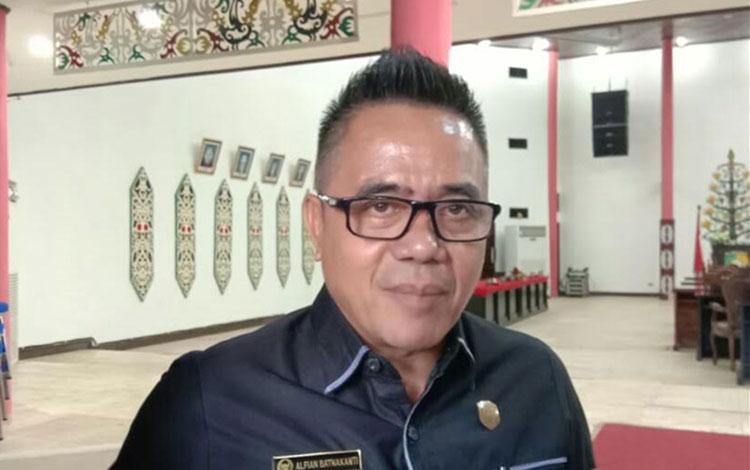 Sekretaris Komisi B, DPRD Kota Palangka Raya, Alfian Batnakanti