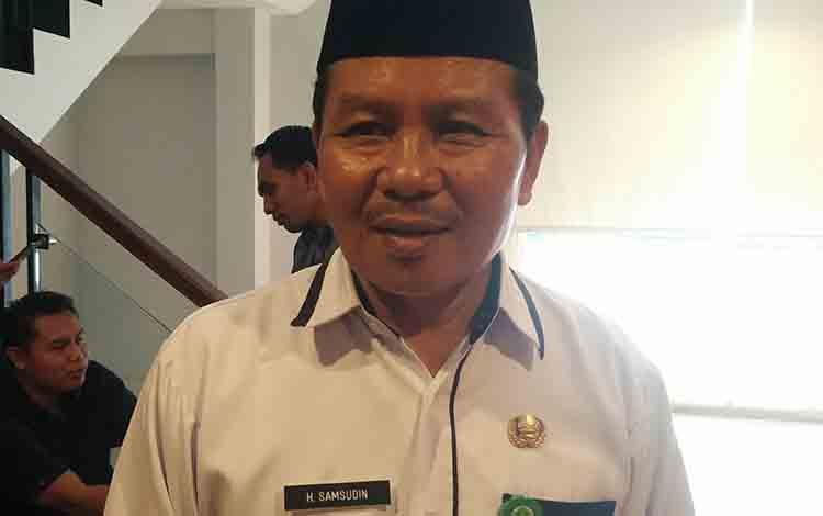 Kepala Kantor Kementerian Agama Kotim, Syamsudin.
