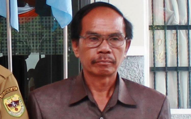 Ketua DPRD Kabupaten Gunung Mas H Gumer.