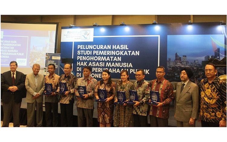 Seminar  hasil Studi Pemeringkatan Penghormatan Hak Asasi Manusia di 100 Perusahaan Publik di Indonesia